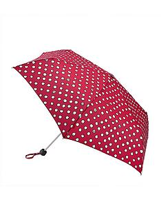 lulu-guinness-polka-pearls-minilite-umbrella-multi
