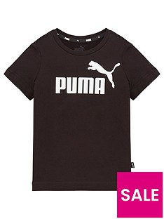 puma-essentials-logo-t-shirt-black