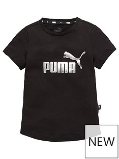 puma-essentials-girlsnbspt-shirt-black