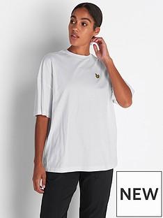 lyle-scott-oversized-t-shirt-white