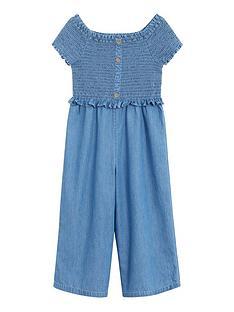 mango-girls-denim-shirred-bodice-jumpsuit-blue