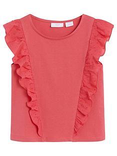 mango-girls-ruffle-sleeveless-top-coral