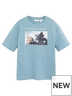 mango-boys-california-short-sleeve-tshirt-teal