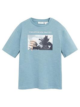 mango-boys-california-short-sleeve-tshirt-teal