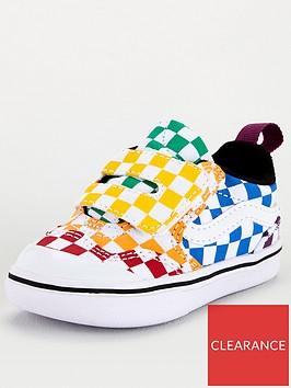 vans-new-skool-checkerboard-infant-trainer-multi