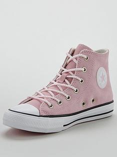 converse-chuck-taylor-all-star-hi-llama-print-childrens-trainer-pink