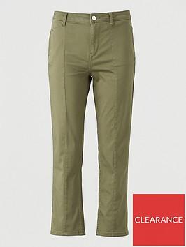 v-by-very-high-waist-sateen-cropped-jean-khaki