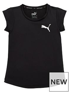 puma-active-girls-t-shirt-black