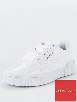 puma-cali-patent-junior-trainers-whitewhite