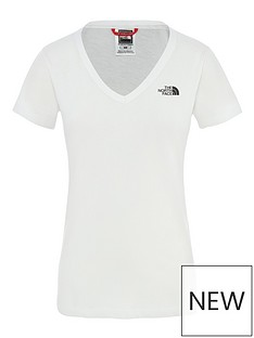 the-north-face-short-sleeve-simple-dome-t-shirt-whitenbsp