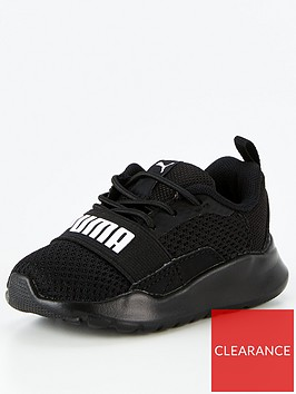 puma-wired-ac-infant-trainers-blackwhite