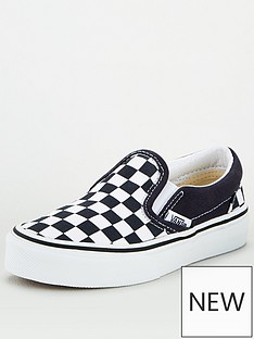 vans-classic-slip-on-checkerboard-childrens-trainer-bluewhite