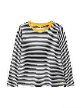 joules-selma-contrast-trim-crew-navy-stripe