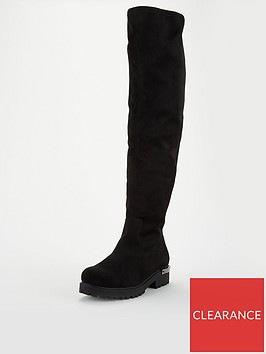 v-by-very-luisa-cleat-sole-over-the-kneenbspboot-black