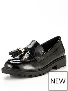 river-island-girls-tassel-loafer--black