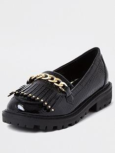river-island-girls-patent-croc-loafer--nbspblack
