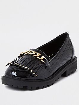river-island-girls-patent-croc-loafer--nbspblack