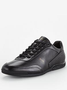 boss-saturn-low-leather-trainers-black