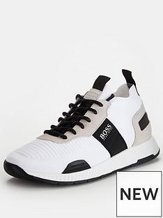 boss-titanium-knit-runner-trainers-white