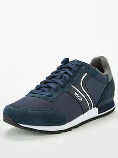 boss-parkour-suede-runner-trainers-navy