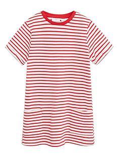 mango-girls-stripe-jersey-short-sleeve-dress-red
