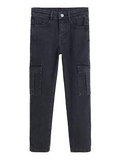 mango-boys-cargo-jeans-charcoal