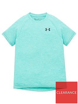 under-armour-childrens-tech-20-t-shirt-green-black