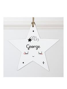 personalised-wooden-star-baby-name-decoration