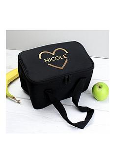personalised-gold-heart-lunch-bag