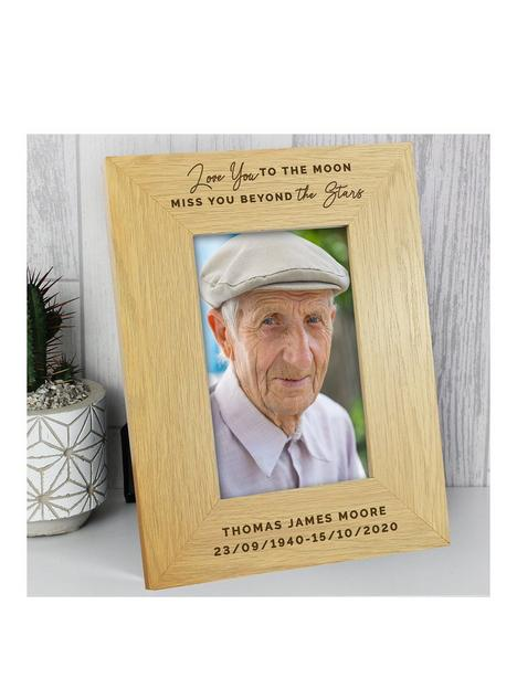 the-personalised-memento-company-personalised-love-you-to-the-moon-memorial-wooden-photo-frame