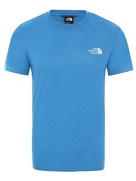 the-north-face-reaxion-red-box-t-shirt-blue