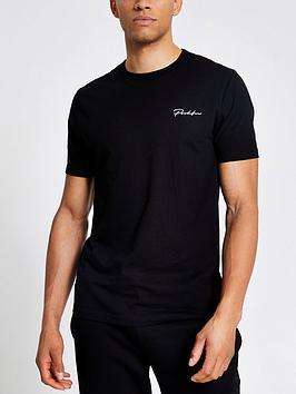 river-island-slim-prolific-t-shirt-black