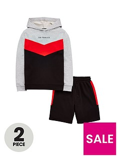 v-by-very-boys-cut-and-sew-short-and-hoody-sweat-set
