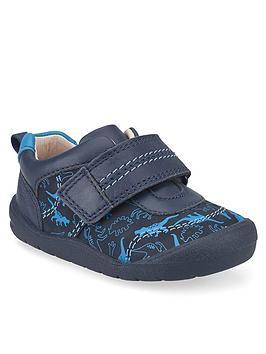 start-rite-boys-footprint-dino-shoes-navy