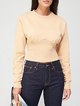 vivienne-westwood-phoenix-corset-sweatshirt-beige