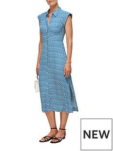 whistles-astrix-floral-blue-dress-multi