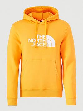 the-north-face-drew-peak-pullovernbsphoodie-orange