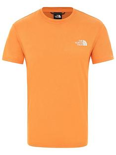 the-north-face-reaxion-red-box-t-shirt-orange