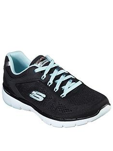 skechers-flex-appeal-30-trainers-blackturquoise