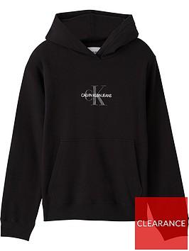 calvin-klein-jeans-plus-glitter-monogram-hoodie-black