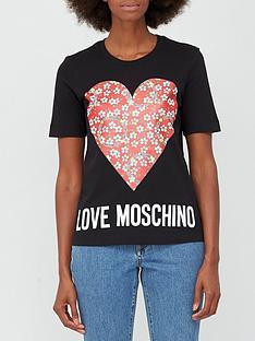 love-moschino-floral-heart-t-shirt-black