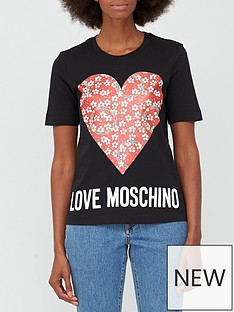 love-moschino-floral-heart-t-shirt-black