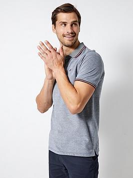 burton-menswear-london-two-tone-short-sleeve-polo-shirt-greyblue