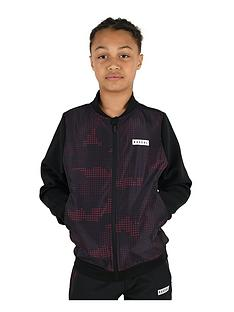 rascal-childrens-garrison-camo-track-top-blackred
