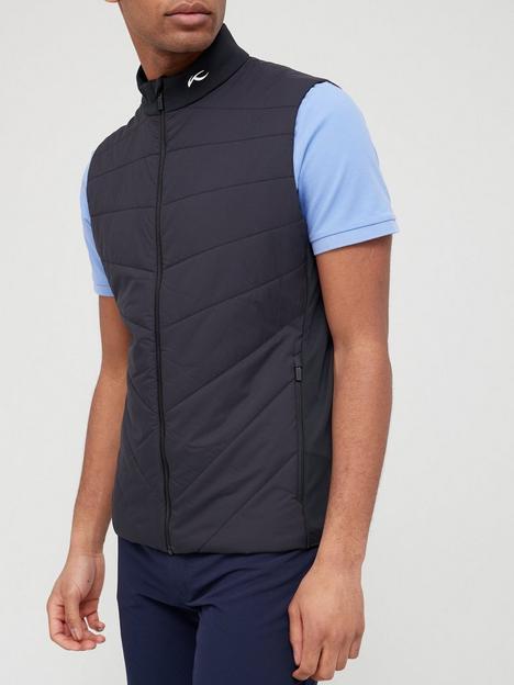 kjus-golf-release-vest-black