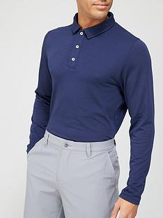 kjus-golf-scotnbsplong-sleevenbsppolo-blue