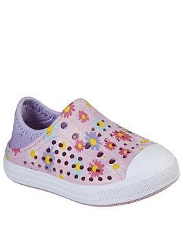 Skechers Toddler Girls Floral Guzman Sandals - Pink