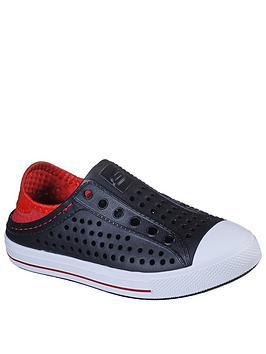 Skechers Boys Guzman Sandals - Black