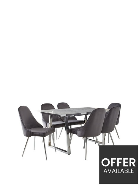 ivy-marble-effect-rectangle-dining-table-with-6-chairs