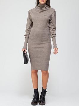 vivienne-westwood-bea-orb-knitted-dress-grey